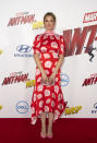 <p>For the premiere of 'Ant-Man and the Wasp', Judy Greer donned a seriously covetable floral dress by Peter Pilotto with Stella Luna shoes. [Photo: Getty] </p>
