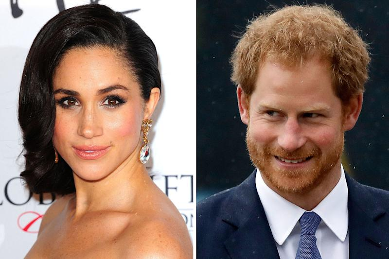 Royal relationship: Prince Harry and Meghan Markle have been dating since last summer: PA Wire