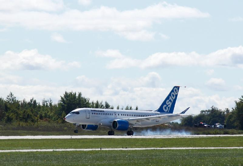 EgyptAir's deal to buy Bombardier's single-aisle C Series aircraft could be worth a total of $2.2 billion if they purchase all 24 planes (AFP Photo/Clement Sabourin)