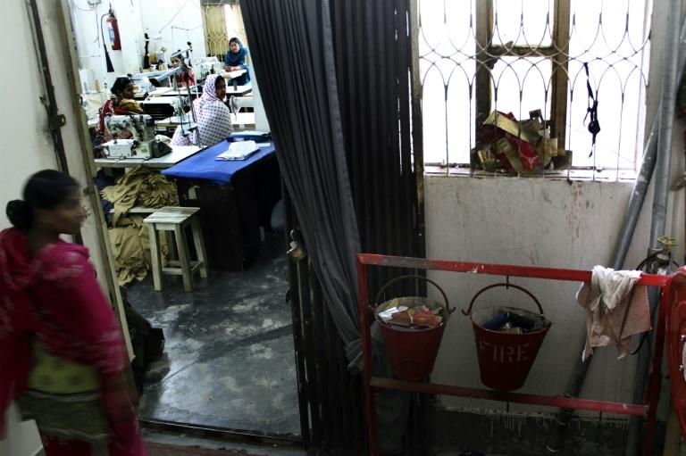Inside a Dhaka garment factory in 2016