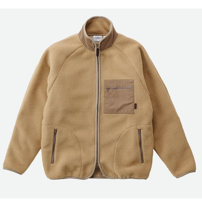 """<p><strong>Gramicci</strong></p><p>huckberry.com</p><p><strong>$148.00</strong></p><p><a href=""""https://go.redirectingat.com?id=74968X1596630&url=https%3A%2F%2Fhuckberry.com%2Fstore%2Fgramicci%2Fcategory%2Fp%2F63368-boa-fleece-jacket&sref=https%3A%2F%2Fwww.esquire.com%2Fstyle%2Fmens-fashion%2Fg22107232%2Fcool-jackets-for-men%2F"""" rel=""""nofollow noopener"""" target=""""_blank"""" data-ylk=""""slk:Buy"""" class=""""link rapid-noclick-resp"""">Buy</a></p><p>Perfect WFH fare from a brand so functional its been endorsed by outdoors-y types for decades. </p>"""