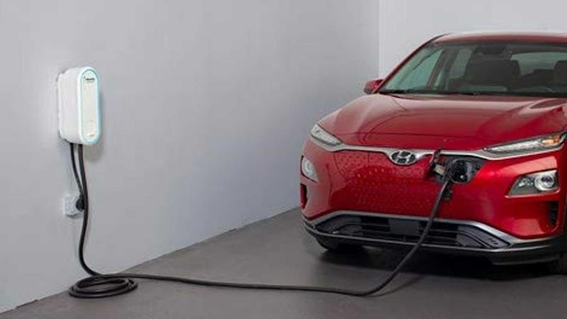 Electrify America home charging station