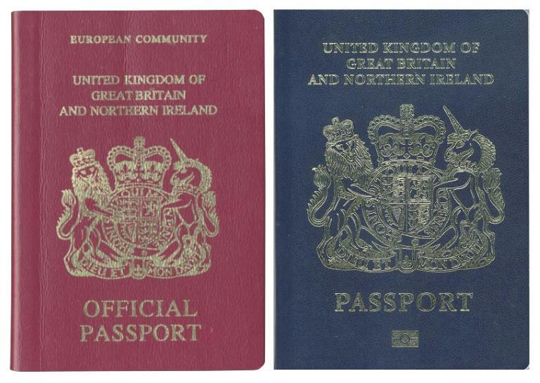 Britain now issues new non-EU passports