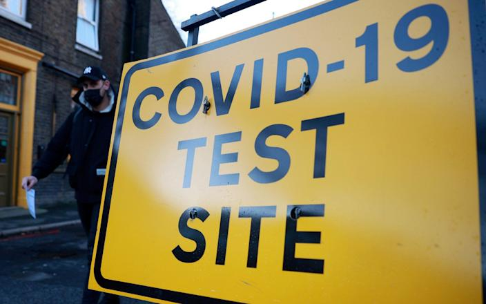 Health officials are concerned that only one in six people with symptoms are coming forward for tests - Hannah McKay/Reuters