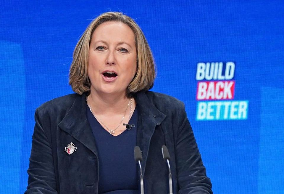 International Trade Secretary Anne-Marie Trevelyan previously posted tweets suggesting she did not believe in man-made climate change (Stefan Rousseau/PA) (PA Wire)