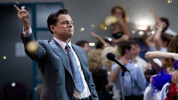 <p> Sex, drugs and suits, oh my! The Wolf of Wall Street is based on the rise and fall of stockbroker, Jordan Belfort, who paired business dealings with hookers and cocaine. This is the fifth film from the Scorsese-DiCaprio love-in, and sees DiCaprio on top form as Belfort, leading some to suggest he might bag that elusive Oscar. Unfortunately, it wasn't to be, but this film is still well worth the three hour runtime. </p>