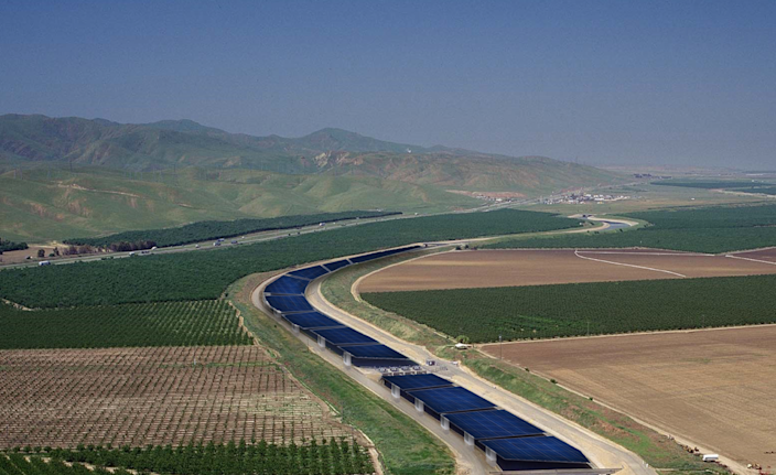 Installing solar panels on California canals could bring back water, soil, air and climate