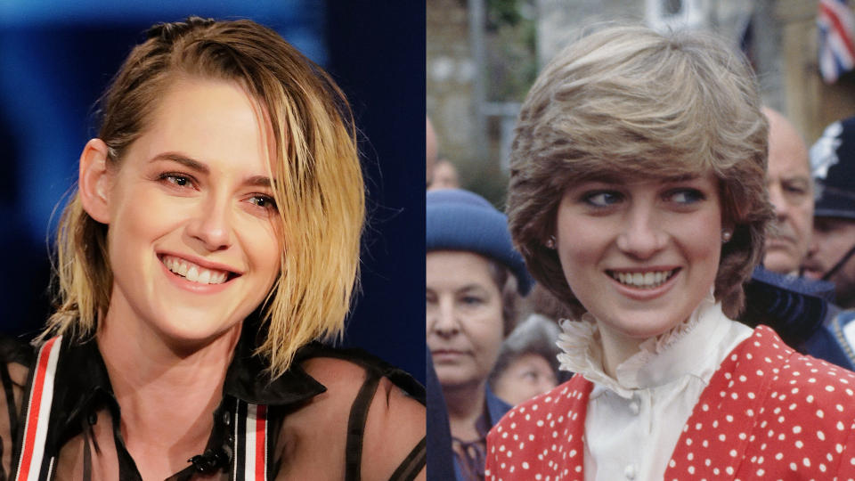 Kristen Stewart is set to play Princess Diana in 'Spencer'. (Credit: Randy Holmes/Jayne Fincher/Princess Diana Archive/Hulton Archive/Getty)