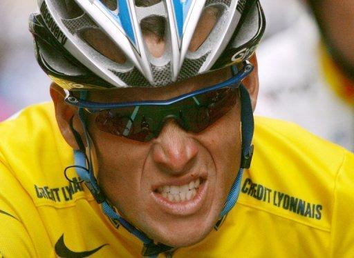 Lance Armstrong became a cycling champion after beating cancer