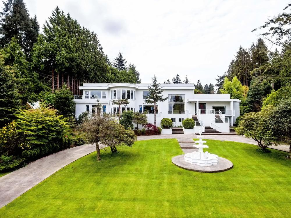 "<p>No. 8: (tie) <a rel=""nofollow"">4838 Belmont Avenue, Vancouver, B.C.</a><br /> List price: $28,000,000<br /> Located in Vancouver's famed Point Grey neighbourhood, this 8,100-square-foot luxury home has five bedrooms and seven-and-a-half bathrooms. The master suite is spacious, with its own office offering scenic views. The home also has an indoor pool and sauna, plus nanny quarters. (Photo: Manyee Lui and Associates) </p>"