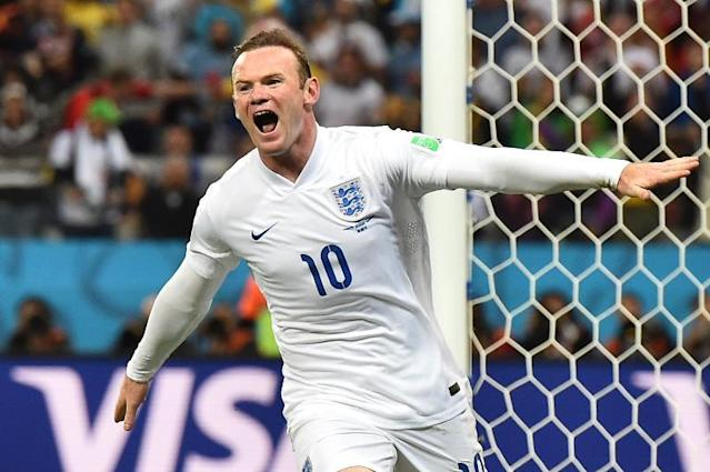 A file photo shows England's forward Wayne Rooney during a World Cup match in Sao Paulo, June 2014 (AFP Photo/Ben Stansall)