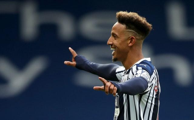 Callum Robinson scored twice for West Brom against Chelsea