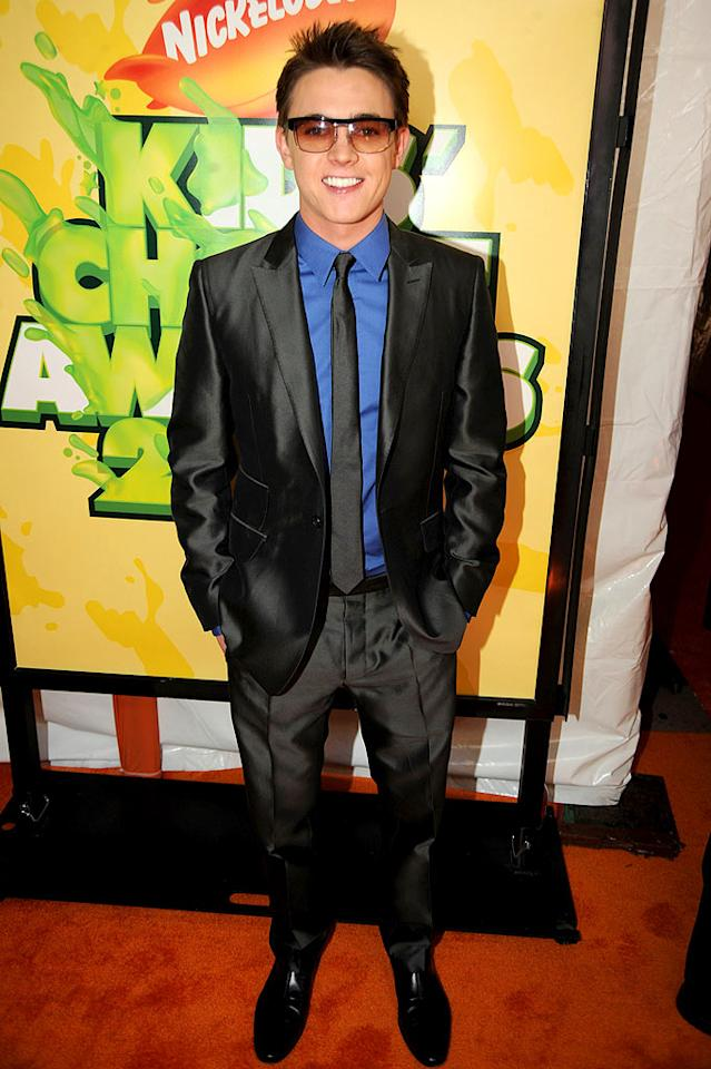 "Although we're not feeling the tinted glasses, Jesse McCartney sure looked dapper in his shiny satin suit. Jeff Kravitz/<a href=""http://filmmagic.com/"" target=""new"">FilmMagic.com</a> - March 28, 2009"