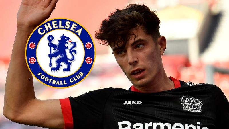 Chelsea reach agreement to sign Havertz from Leverkusen for an initial £72m