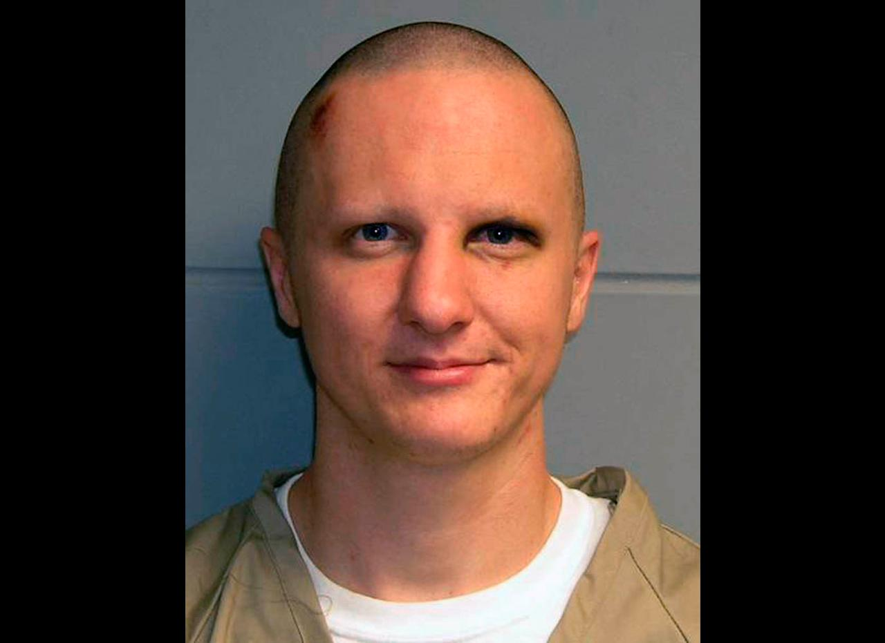 FILE - This photo released Tuesday, Feb. 22, 2011, by the U.S. Marshal's Service shows Jared Lee Loughner, the suspect in the Tucson, Ariz., shooting rampage that killed six people and left several others wounded, including then-U.S. Rep. Gabrielle Giffords. The judge overseeing the mass shooting case has scheduled competency and change of plea hearings for Loughner for Tuesday, Aug. 6, 2012. The schedulinheg order confirms that a plea agreement has been reached in the case. (AP Photo/U.S. Marshal's Office, File)
