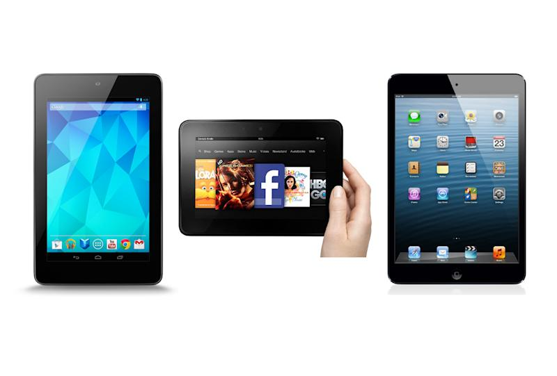 This year has been a turning point for tablets, with models on sale for less than £200 (Image: Recombu)