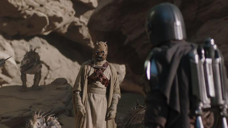 The Mandalorian season 2 actor created a special sign language for the Tusken Raiders