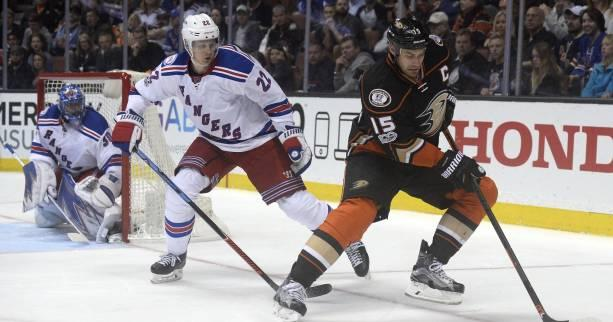Hockey - NHL - Les Anaheim Ducks enchaînent face aux New York Rangers