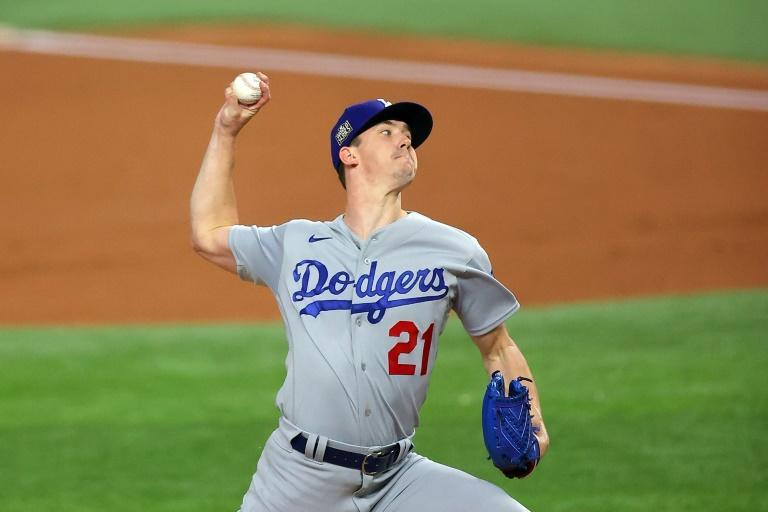 Los Angeles pitcher Walker Buehler struck out 10 in a dominant performance against Tampa Bay as the Dodgers beat the Rays 6-2 in game three of the 2020 World Series