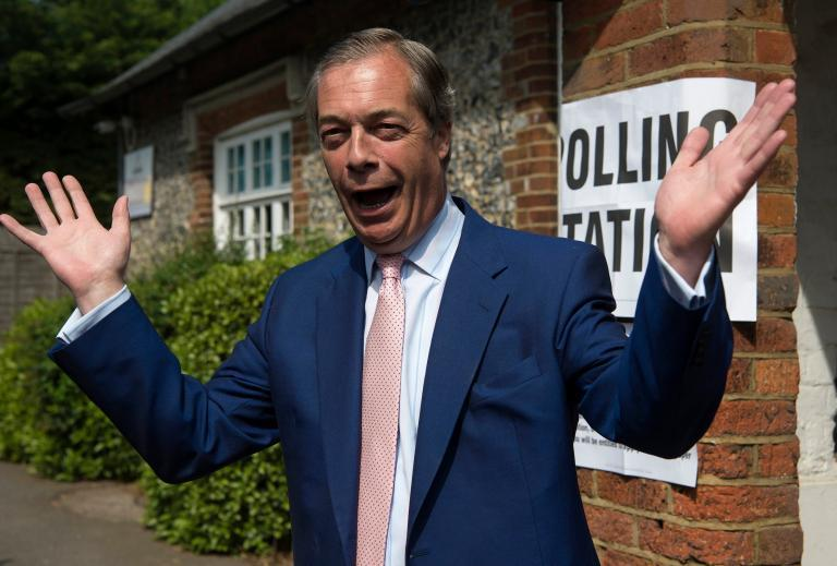 Nigel Farage says 'it's hard not to feel for Theresa May' but that she 'misjudged the mood of the country'