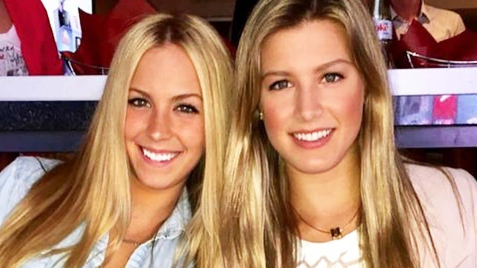Beatrice and Eugenie Bouchard, pictured here on Instagram.