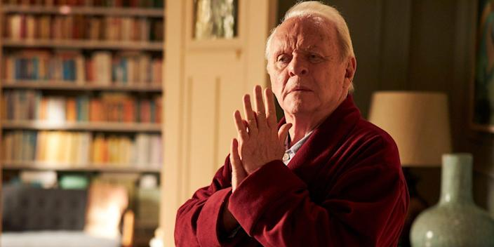"""Sir Anthony Hopkins in """"The Father."""""""