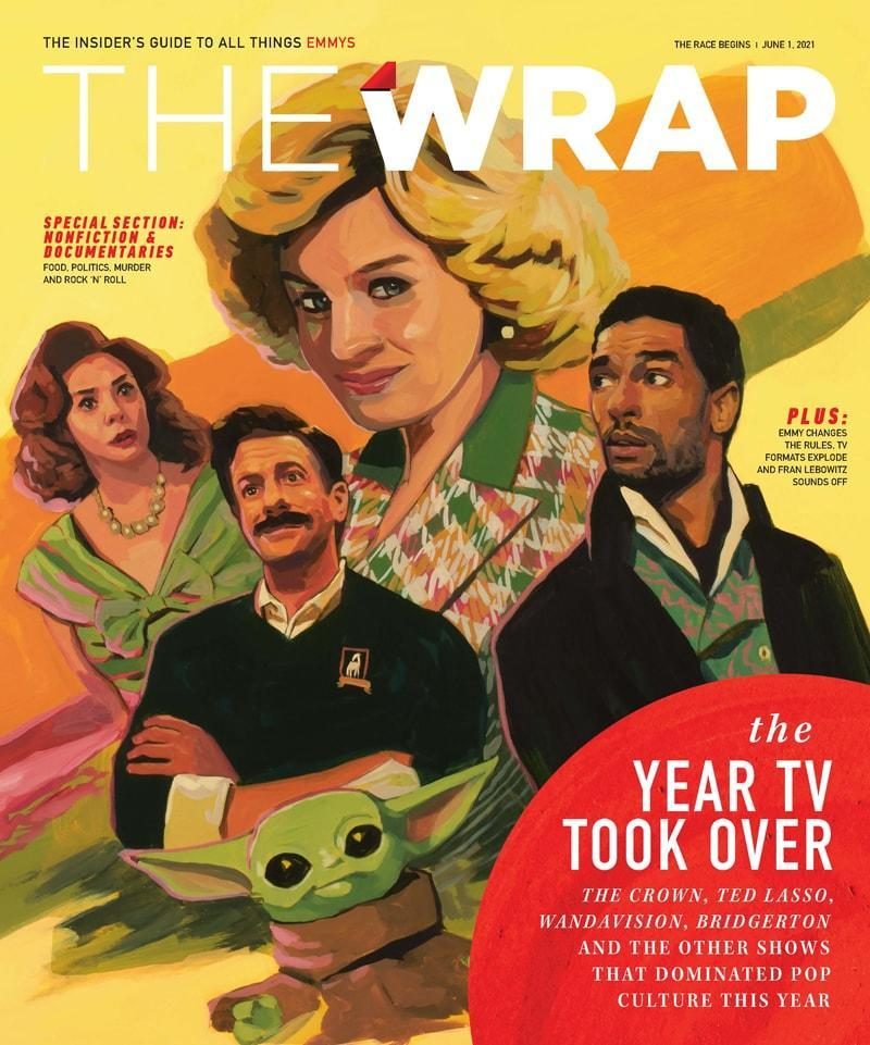 EmmyWrap The Race Begins 2021 cover