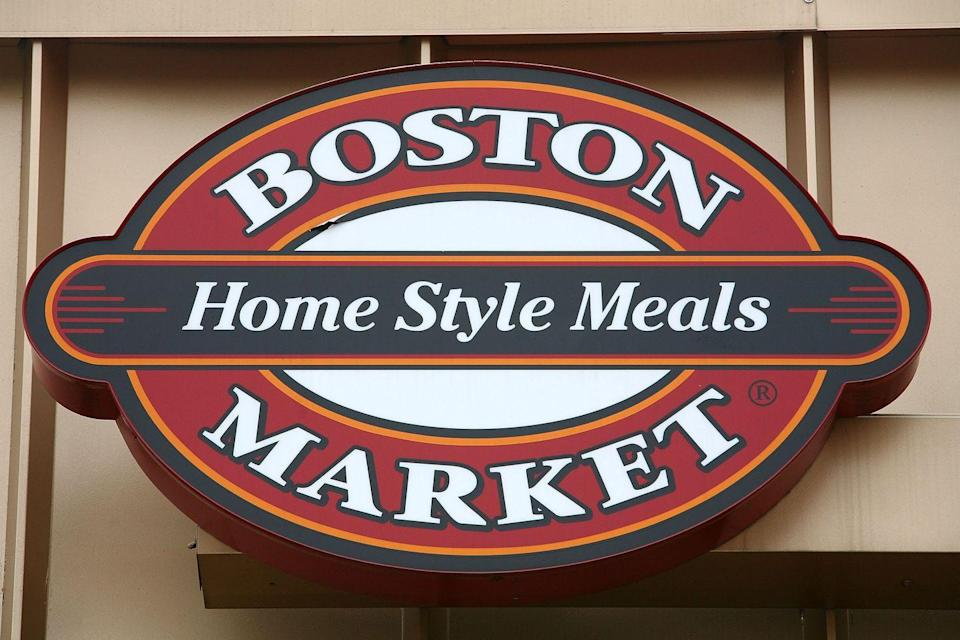 """<p>Holidays are <a href=""""https://bostonmarket.com/holiday-meal-catering-and-delivery/heat-serve-to-go/"""" rel=""""nofollow noopener"""" target=""""_blank"""" data-ylk=""""slk:Boston Market"""" class=""""link rapid-noclick-resp"""">Boston Market</a>'s speciality and this year, they're making it even easier for you to get your grub on. While you can dine at select participating locations, Boston Market also has order pick-ups and meal deliveries available. <a href=""""https://www.bostonmarket.com/open-christmas/"""" rel=""""nofollow noopener"""" target=""""_blank"""" data-ylk=""""slk:Choose from a smorgasbord of à la carte options"""" class=""""link rapid-noclick-resp"""">Choose from a smorgasbord of à la carte options</a> or go for the whole feast (with an option of prime rib, turkey or ham). If you place your order early enough, they'll even deliver to your house — what a Christmas miracle! </p>"""