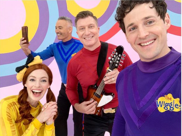 Emma Watkins and the rest of The Wiggles