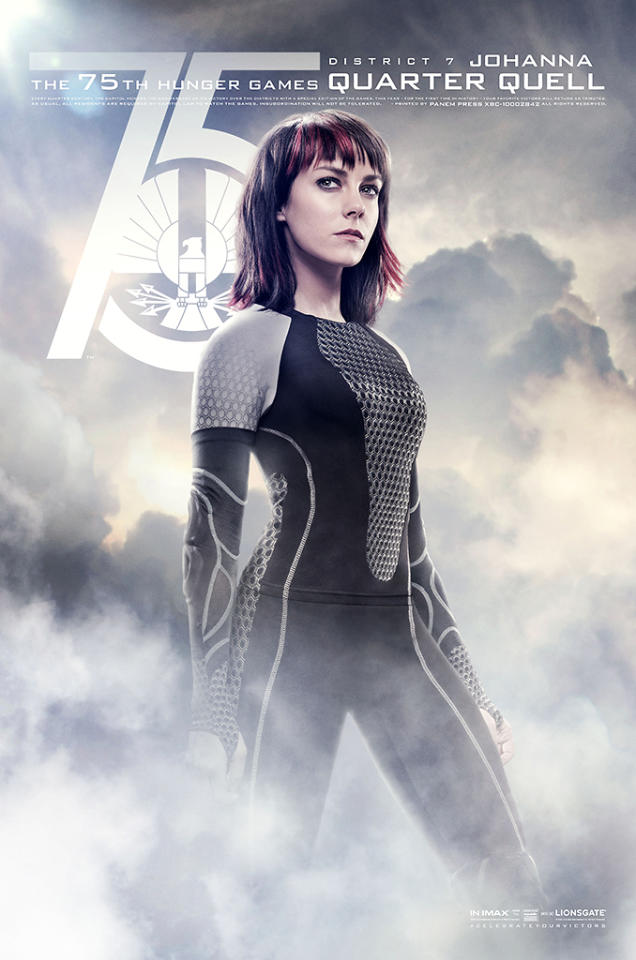 "Jena Malone as Johanna in Lionsgate's ""The Hunger Games: Catching Fire"" - 2013"
