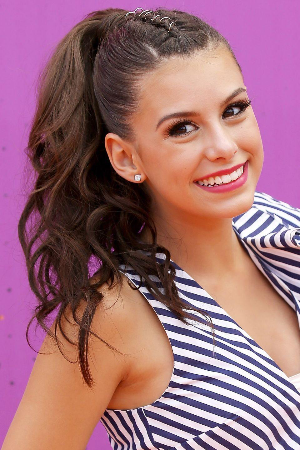 <p>Some girls want to wear a ponytail everyday. If that sounds strangely familiar, then try out Nickelodeon star Madisyn Shipman's look by adding fun — and edgy — flair to the classic style by twisting wire — silver, gold, copper and more — around 1-inch of hair. </p>