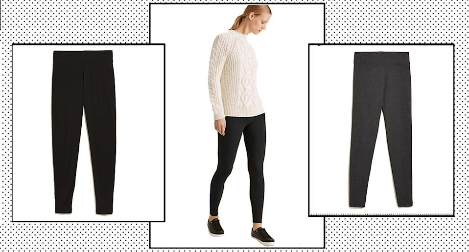 Marks and Spencer launch new high waisted leggings and they're perfect for all occasions.  (M&S)