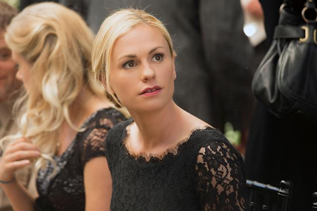 "Anna Paquin in the ""True Blood"" Season 6 episode, ""Life Matters."""