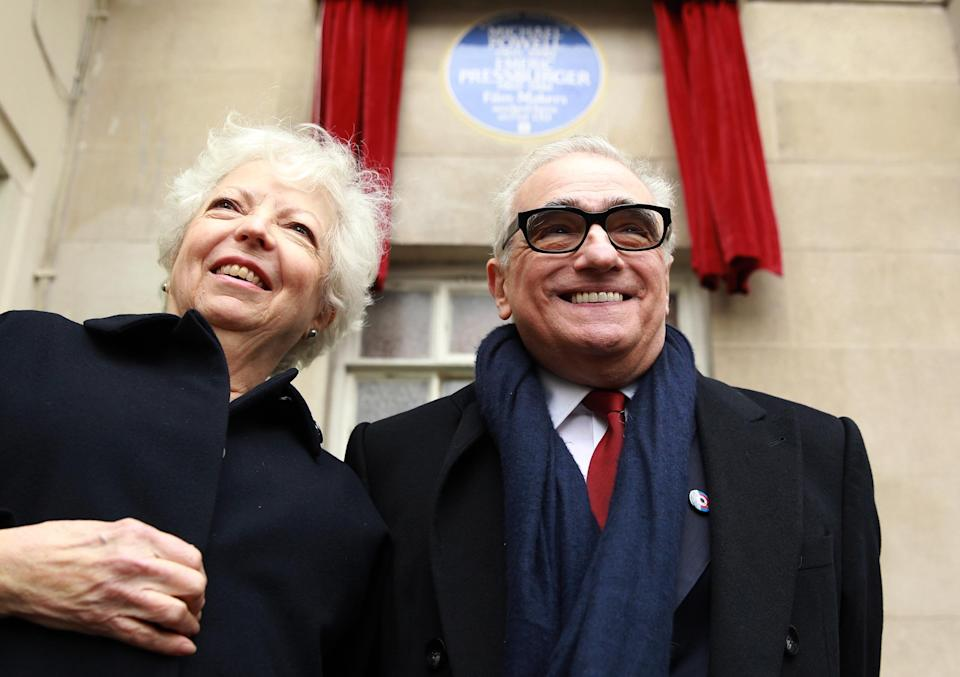 The editor behind Goodfellas joins her director Martin Scorsese and late husband Michael Powell as a fellow.