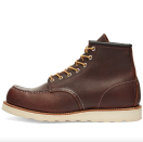 """<p><strong>Red Wing Heritage</strong></p><p>endclothing.com</p><p><strong>$309.00</strong></p><p><a href=""""https://go.redirectingat.com?id=74968X1596630&url=https%3A%2F%2Fwww.endclothing.com%2Fus%2Fred-wing-8138-heritage-work-6-moc-toe-boot-8138.html&sref=https%3A%2F%2Fwww.esquire.com%2Fstyle%2Fmens-fashion%2Fg12486892%2Fbest-work-boots-men%2F"""" rel=""""nofollow noopener"""" target=""""_blank"""" data-ylk=""""slk:Shop Now"""" class=""""link rapid-noclick-resp"""">Shop Now</a></p><p>If you're more concerned with channeling a workwear vibe than finding something you can pull on while actively doing construction work, Red Wing Heritage has you covered. These boots are built to last for years of regular-guy wear. They're made of incredible leather, with impeccable construction, and the look is downright timeless.</p>"""