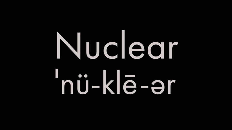 How to pronounce nuclear