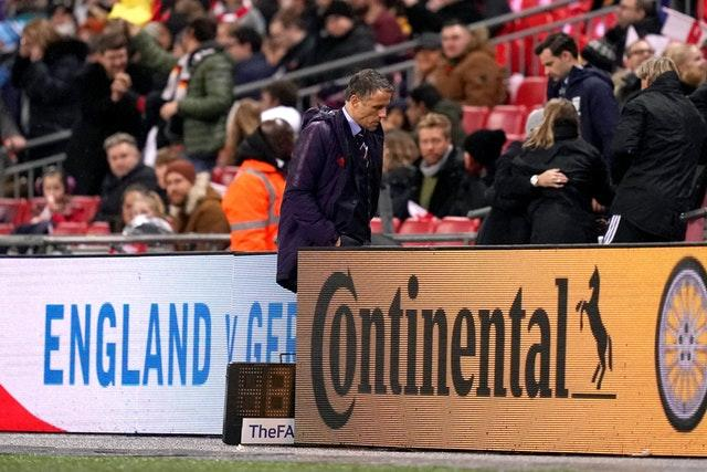 England Women's manager Phil Neville (Credit: PA)