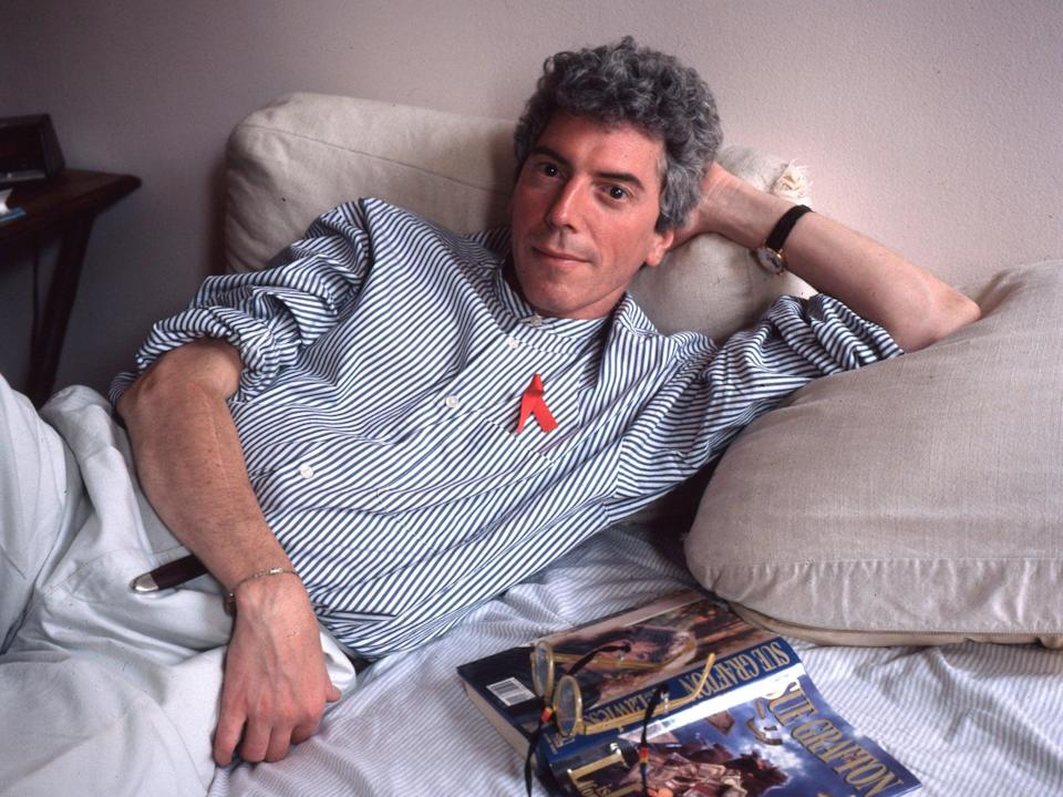 <p>O'Connell died of complications from Aids after almost 40 years of living with the disease </p> (Getty)