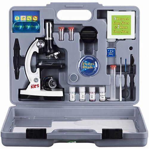 """<p><strong><em>Beginner Microscope Kit,</em></strong><strong><em> $40</em></strong> <a class=""""link rapid-noclick-resp"""" href=""""https://www.amazon.com/AMSCOPE-KIDS-M30-ABS-KT2-W-Microscope-Illumination-Magnification/dp/B00GGY85EC/?tag=syn-yahoo-20&ascsubtag=%5Bartid%7C10050.g.35033504%5Bsrc%7Cyahoo-us"""" rel=""""nofollow noopener"""" target=""""_blank"""" data-ylk=""""slk:BUY NOW"""">BUY NOW</a></p><p>Microscope sets, much like toy chemistry sets, have ignited generations of aspiring scientists. While some experiments may go awry, this educational toy is a favorite for those curious about the microscopic world around us.</p>"""