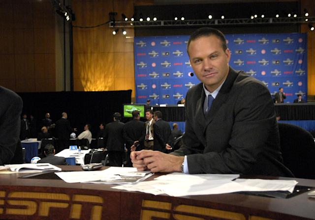 Former U.S. soccer star Eric Wynalda had to evacuate his Southern California home on Friday due to a large wildfire. Hours later, he watched his house burn down on TV. (A. Messerschmidt/MLS/Getty Images)