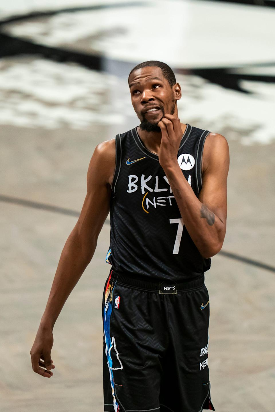 Kevin Durant has appeared in only 24 games for the Nets this season, but he remains the key to their championship hopes.