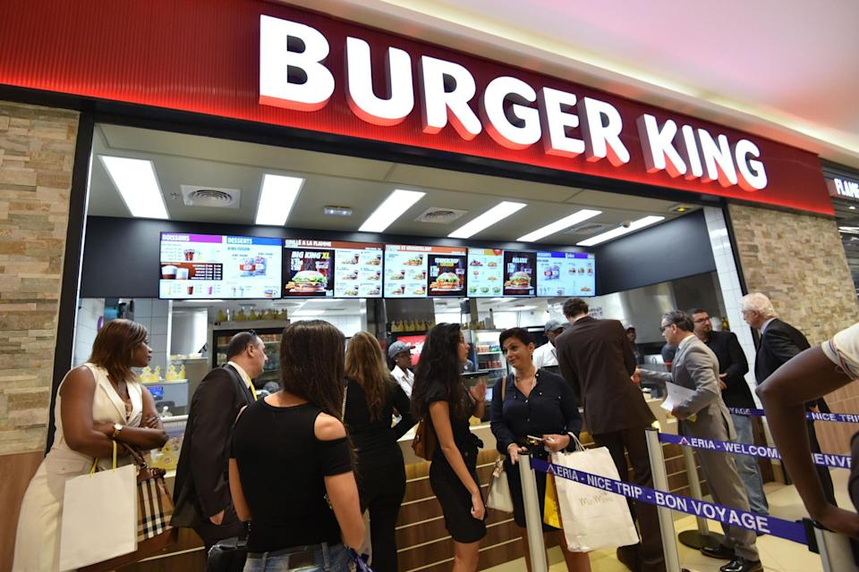 Still some work to do: Burger King is falling behind its rivals when it comes to vegan eating (AFP/Getty Images)