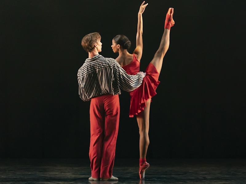 Céline Gittens and Max Maslen in 'In The Upper Room': Emma Kauldhar