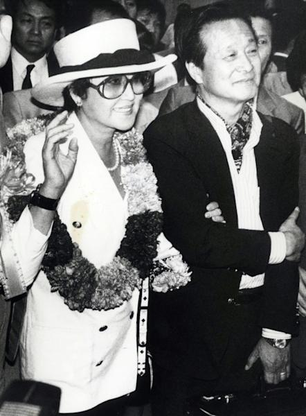 This picture taken on May 23, 1989 and released by Dong-A Ilbo on April 17, The couple, seen here in South Korea in 1989, finally staged a daring escape to the US embassy in Vienna after attending the Berlinale film festival in 1986