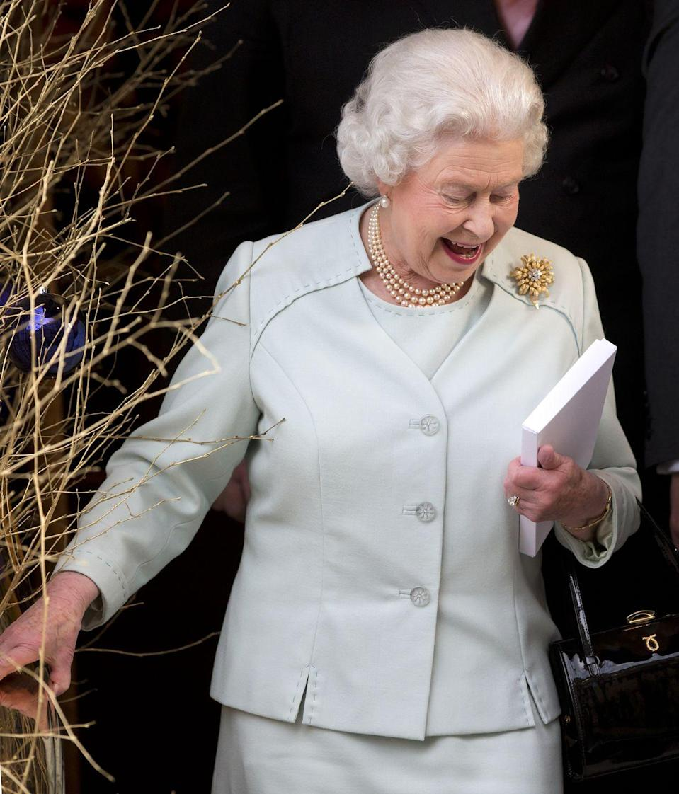 """<p>Every year, the Queen throws her annual holiday party, which is typically attended by as many as 50 members of the extended royal family, including the the Duke and Duchess of Cambridge and Prince George, Princess Charlotte, and Prince Louis, Prince Charles and Duchess Camilla, Princess Eugenie and Princess Beatrice, and Zara and Mike Tindall. Both Meghan Markle and Kate Middleton attended this party before their respective royal weddings, and it was a good chance for them to get to know the family before they said """"I do."""" </p>"""