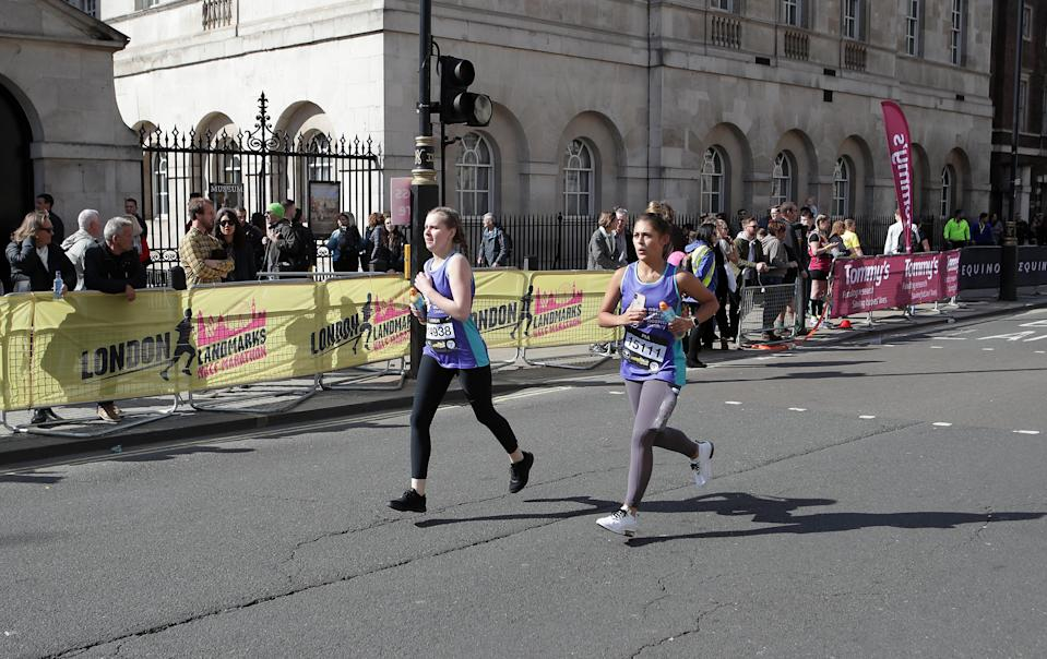 <em>The burglary took place during the 2019 London Landmarks Half Marathon over the weekend (Getty)</em>