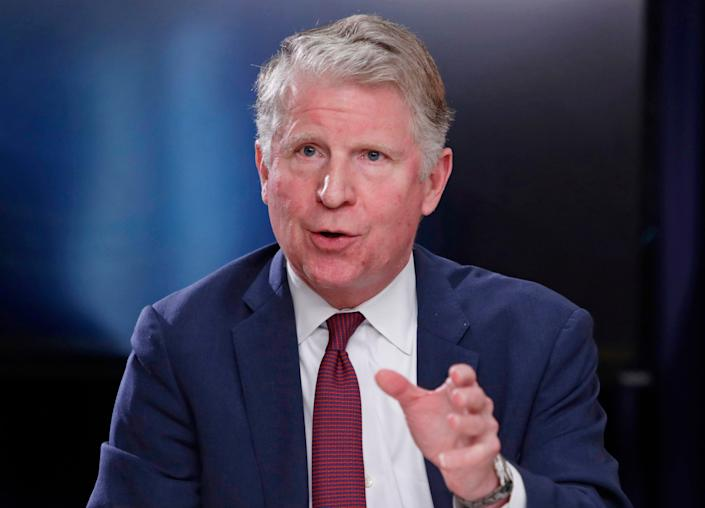 In this May 10, 2018, file photo, Manhattan District Attorney Cyrus R. Vance, Jr., responds to a question during a news conference in New York. AP, Frank Franklin II, File)