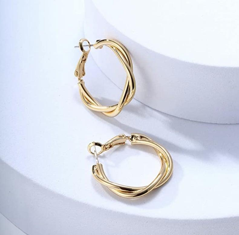 <p>These <span>Ascona Gold Chunky Hoop Earrings</span> ($13) are a timeless investment.</p>