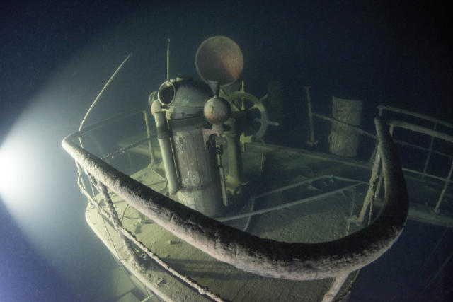 <p>The Philadelphia adventurer had only 25 dives with the ship and she talks of how haunting the experience was. (Photo: Becky Kagan Schott/Caters News) </p>