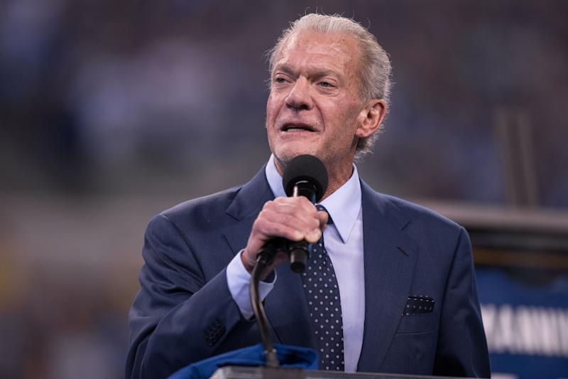 Colts owner Jim Irsay spent a whole lot of money on guitars